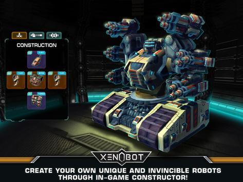 Xenobot. Battle robots. screenshot 13
