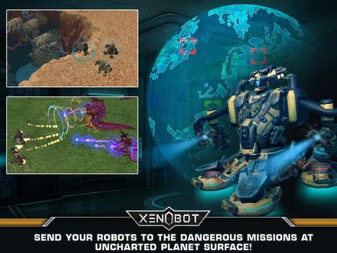 Xenobot. Battle robots. screenshot 14