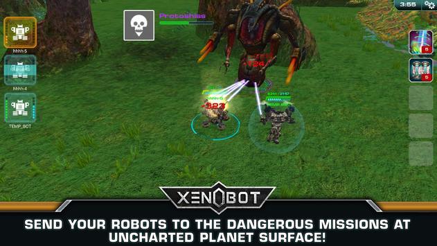 Xenobot. Battle robots. screenshot 4