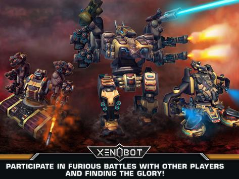 Xenobot. Battle robots. screenshot 5