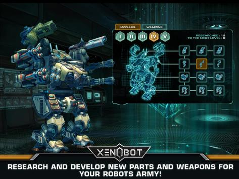Xenobot. Battle robots. screenshot 6