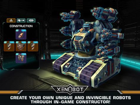Xenobot. Battle robots. screenshot 8