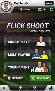 Flick Shoot Uk captura de pantalla 2