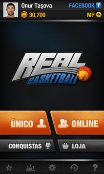 Real Basketball Cartaz