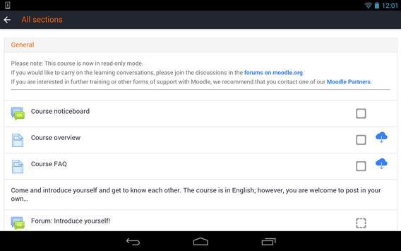 Learn Moodle screenshot 5