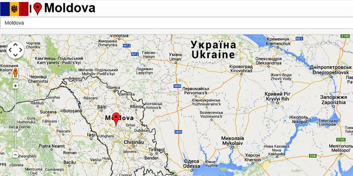 Moldova map for Android - APK Download