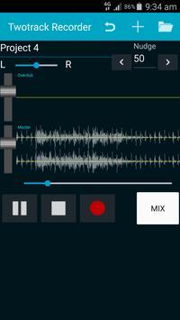 Twotrack studio recorder poster
