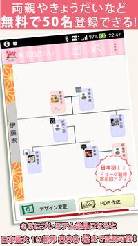 無料 赤ちゃん家系図~日本No.1 信頼の子供と家族の家系図 登録数80万人突破 screenshot 1
