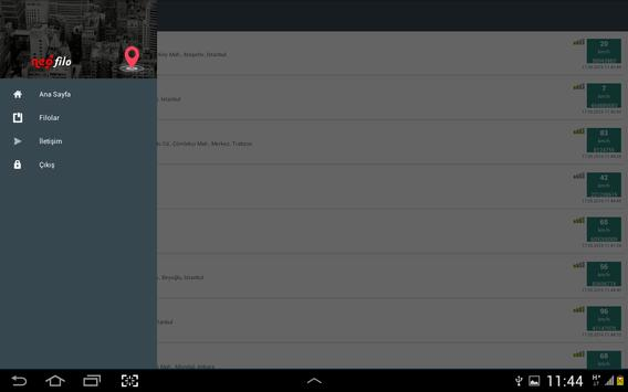 Neofilo Araç Takip Sistemi screenshot 12