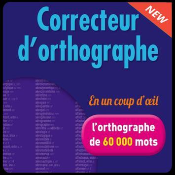 Correcteur d'orthographe (sans internet) poster