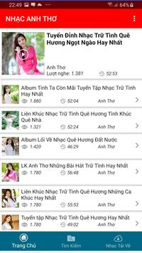 Nhac Anh Tho - Tieng Hat Anh Tho poster