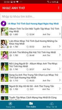 Nhac Anh Tho - Tieng Hat Anh Tho screenshot 7