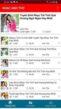 Nhac Anh Tho - Tieng Hat Anh Tho screenshot 4