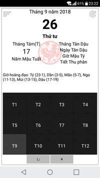 Vietnamese lunar calendar screenshot 4