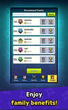 Ninja Clash - Random Merge, grow ninja PVP Defense screenshot 11