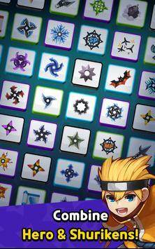 Ninja Clash - Random Merge, grow ninja PVP Defense screenshot 5
