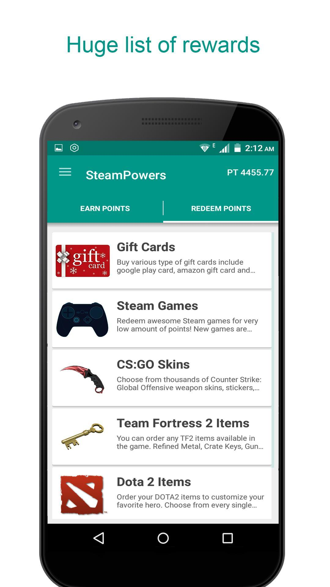 Free Gift Cards & Steam Games - GameTame for Android - APK