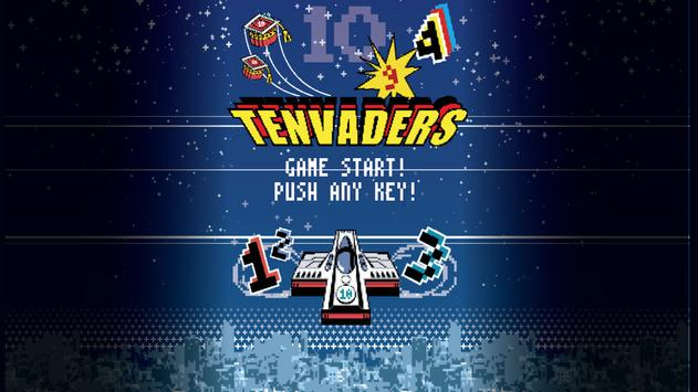 TENVADERS poster