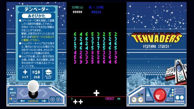 TENVADERS screenshot 1