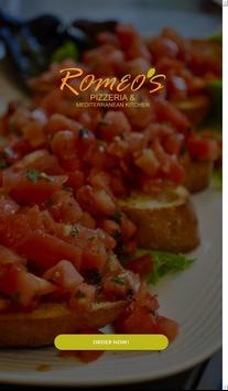 Romeo's Pizza IUP poster