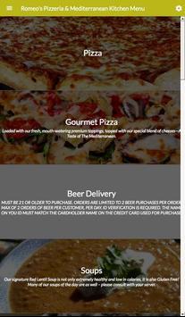 Romeo's Pizza IUP screenshot 1