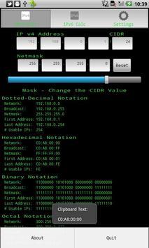 IP Network Calculator скриншот 2