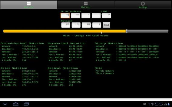 IP Network Calculator скриншот 3