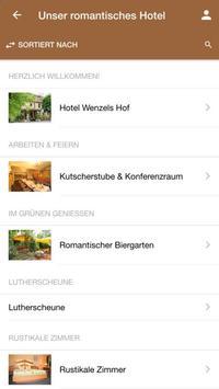 Hotel Wenzels Hof screenshot 1