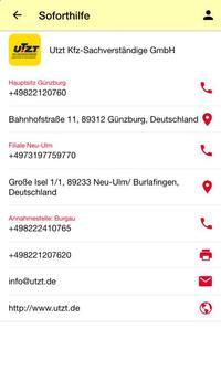 Utzt GmbH screenshot 1