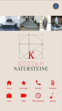 Kostan Natursteine poster