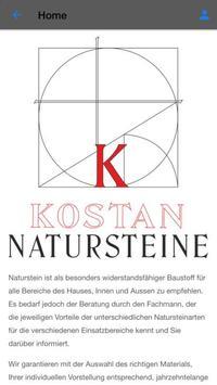 Kostan Natursteine screenshot 1