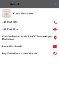 Kostan Natursteine screenshot 3