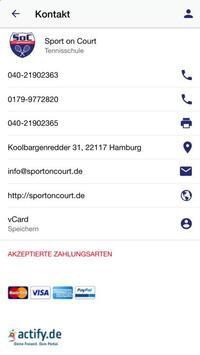 Sport on Court screenshot 1