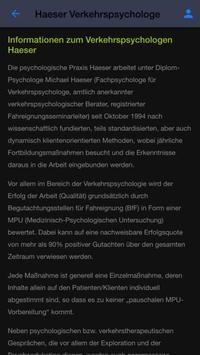 Verkehrspsychologe MPU Haeser screenshot 4
