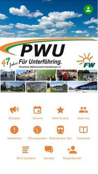 PWU - Für Unterföhring poster