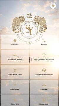 Spiritual Yogi poster