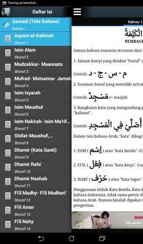 Nahwu Sorof dan Bahasa Arab screenshot 9