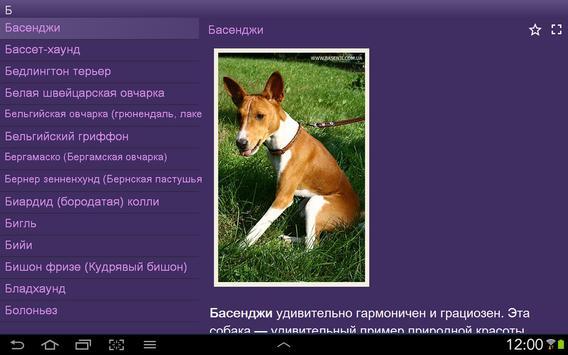 Породы собак screenshot 7