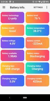 Battery info. screenshot 3