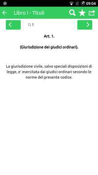 Codice Procedura Civile capture d'écran 4