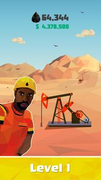 Idle Oil Tycoon: Gas Factory Simulator poster