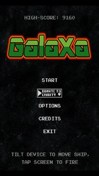 Galaxa screenshot 1