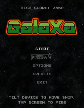 Galaxa screenshot 4