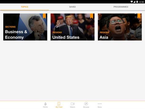 Al Jazeera English स्क्रीनशॉट 5