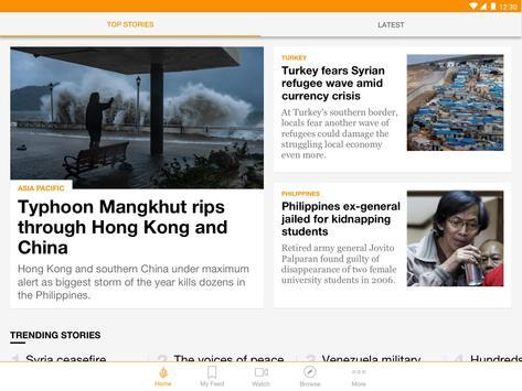 Al Jazeera English स्क्रीनशॉट 6