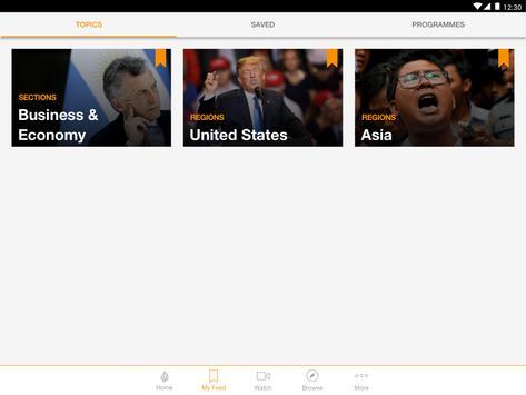 Al Jazeera English स्क्रीनशॉट 7