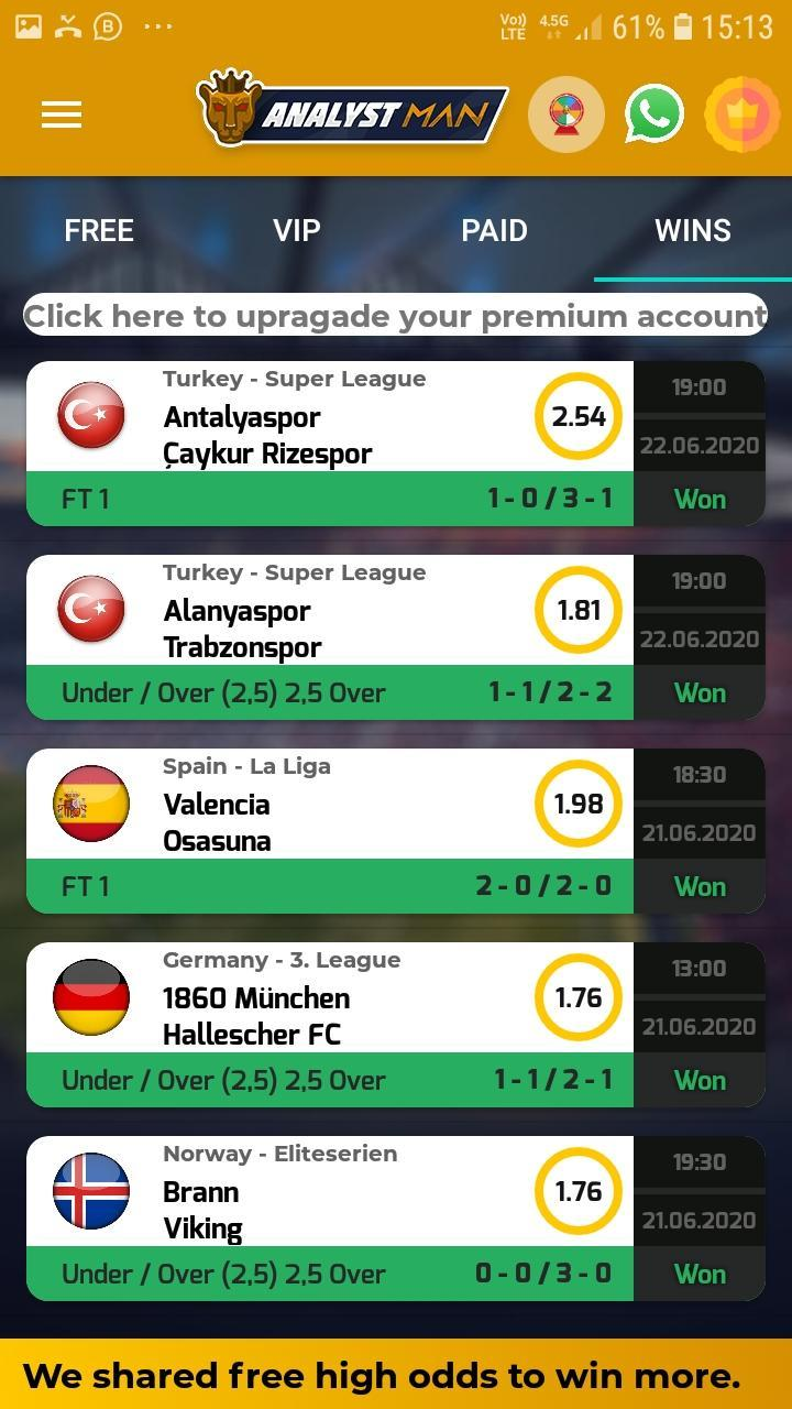 betting tips applications