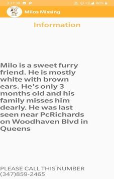 Milo's Missing screenshot 2