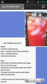 Resepi Minuman Sedap poster