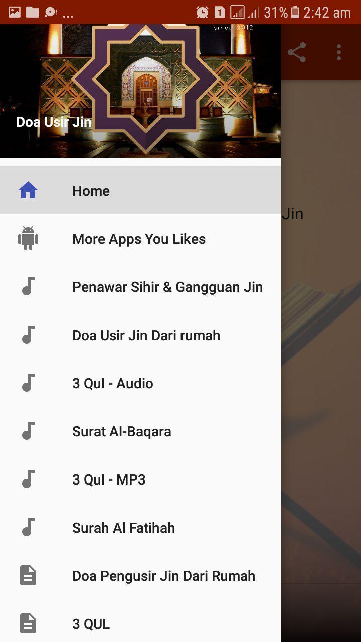 Doa Usir Jin for Android - APK Download